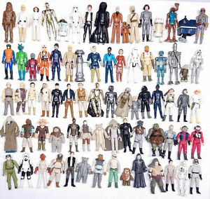 Many to choose from Vintage Star Wars Figures B Please choose from selection
