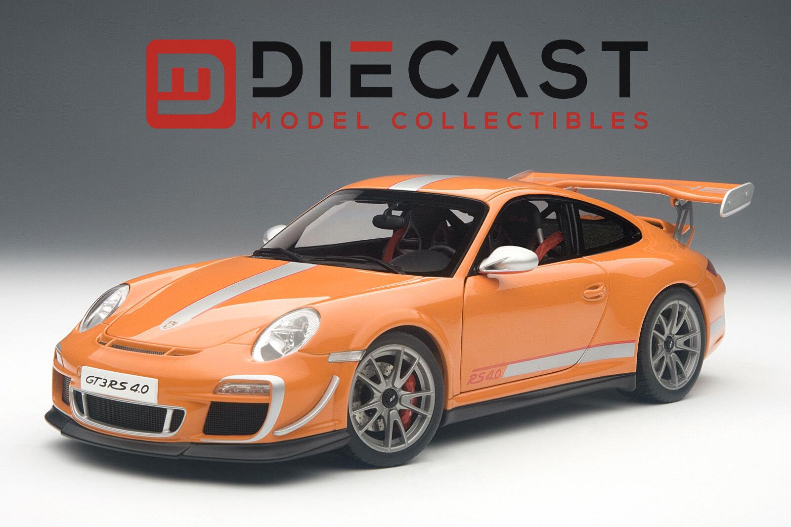punto de venta Autoart 78148 Porsche 911 (997) (997) (997) GT3 RS 4.0, escala de 1 18TH Naranja  Tu satisfacción es nuestro objetivo