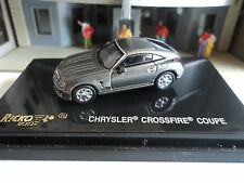 RICKO  CHYSLER  CROSSIRE  COUPE  CHARCOAL    1/87  HO CAR PLASTIC