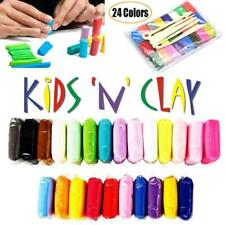 K02-C24 24 Colors Tool set Oven Polymer Clay Modelling Moulding Art Craft Kid