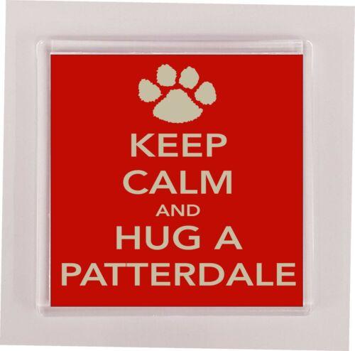 Patterdale Coaster-Keep Calm And Hug a-Nouveauté Cadeau Tasse