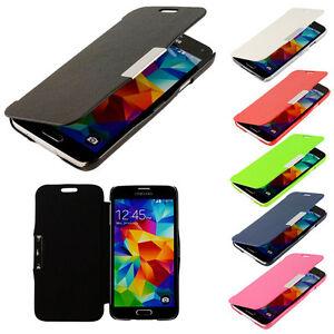 Flip-Handy-Tasche-Samsung-Galaxy-iPhone-HTC-Sony-Xperia-Schutz-Huelle-Case-Cover