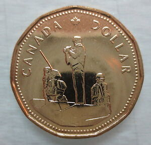 1995-PEACEKEEPING-LOONIE-BRILLIANT-UNCIRCULATED-COIN