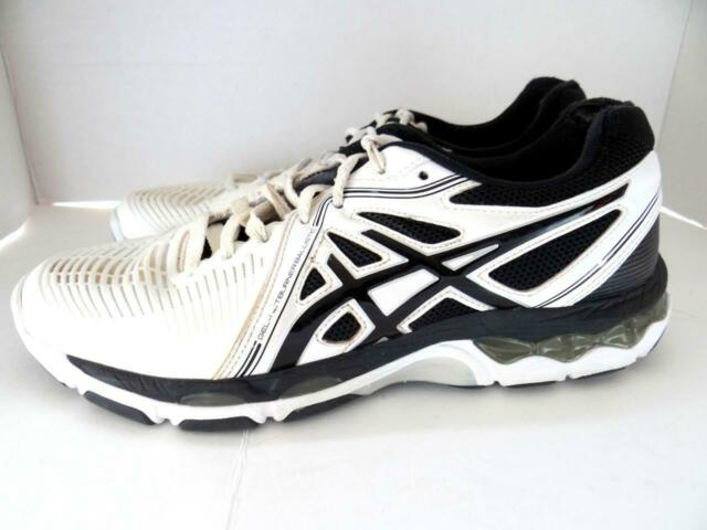 Asics Gel Netburner Ballistic Size 10 Women's Volleyball Shoes B557Y Black White