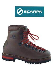 outlet store 947ac 60ca8 Dettagli su SCARPA 80830 GUIDA scarpone uomo CUCITO IN VACCHETTA GALLUSER  (S.C.A.R.P.A.)