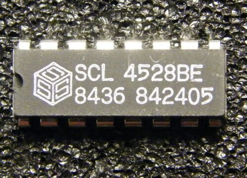 Solid State Scientific 10x scl4528be dual monostable multivibrator