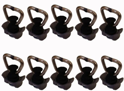L Track Stud Fitting,Track anchor with Stainless Steel Ring 2500Lbs-10packs