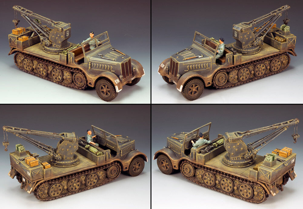 KING AND COUNTRY Sd. Kfz. 9 Famo Recovery Vehicle WW2 KM017