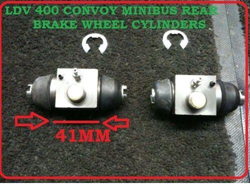 FOR LDV 400 CONVOY MINIBUS  REAR BRAKE WHEEL CYLINDERS X 2