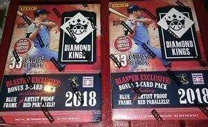 2018-Panini-Diamond-Kings-Baseball-2-Blaster-Box-Lot-6-Packs-5-Cards-per