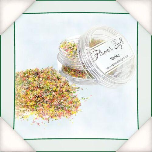 FLOWER SOFT Mixed Colours Range SPRING 30ml Jar 0330001FSSPR