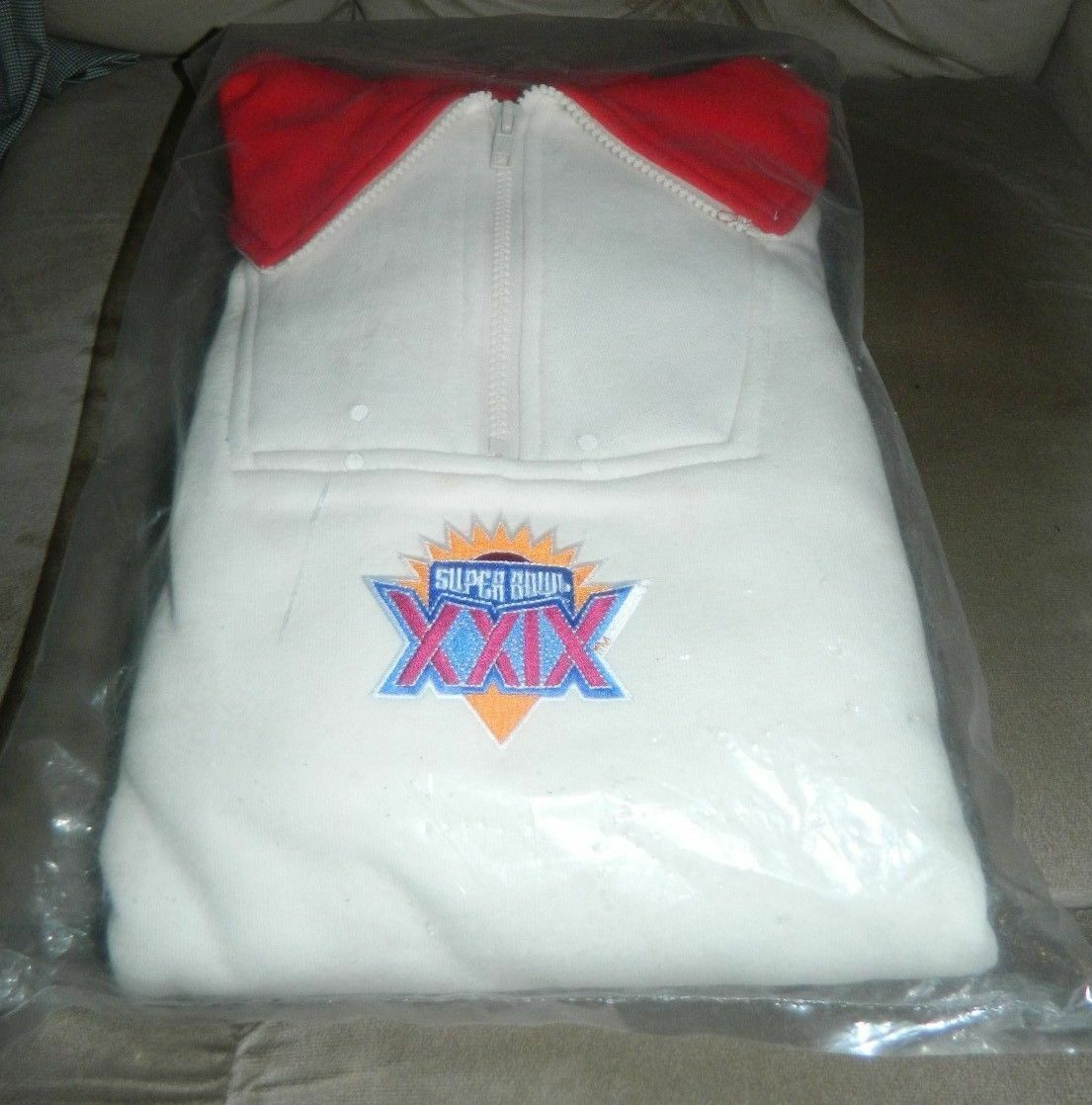 Neu J.J.Macintyre Super Bowl Xxix 29 Pullover Sweatshirt 49ers Ladegeräte