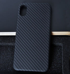 best service aeebf 646fa Details about Ultra Thin Carbon Fibre Cover For iPhone X Xs Max Real Carbon  Fiber Case Cover