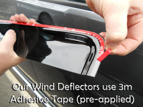 Dacia Duster 2010 On Wind Deflectors 4pc Trux Adhesive Fit