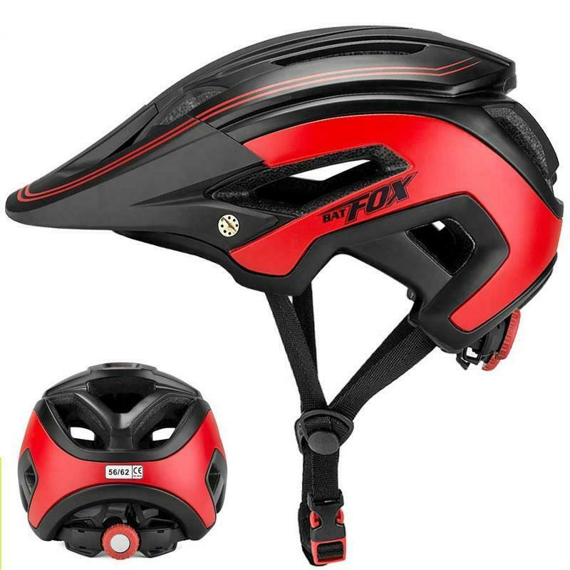 Bicycle Helmet Men donna Ultralight Integrally Molded MTB Bike Safe Cap Tools