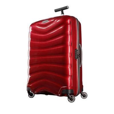 NEW Samsonite Firelite Spinner Suitcase Chili Red Medium 75cm