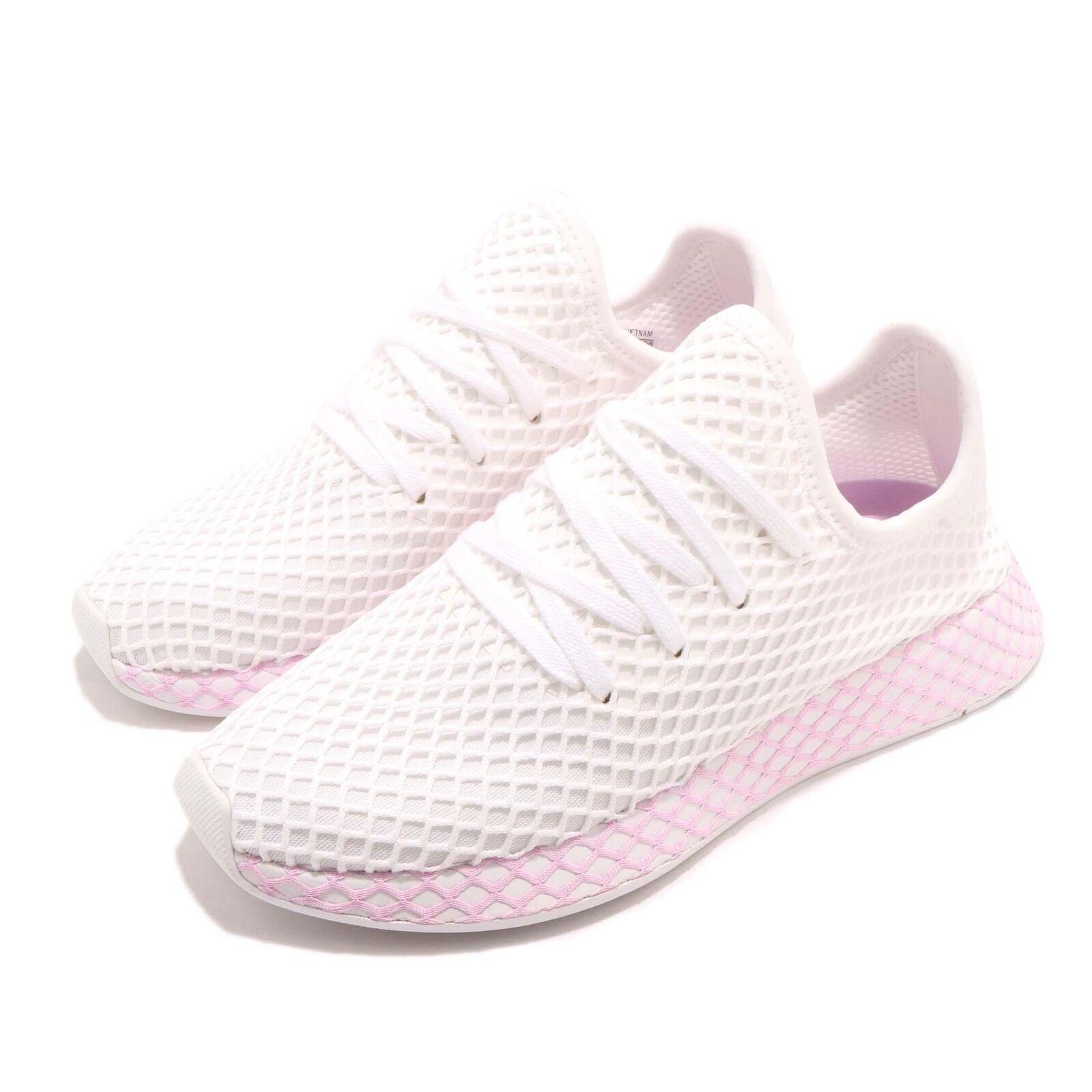 adidas Originals Deerupt W Runner Blanc Lilac Femme Running Chaussures Sneaker B37601