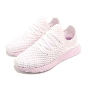 b869e3d0a0aba adidas Originals Deerupt W Runner White Lilac Women Running Shoes ...
