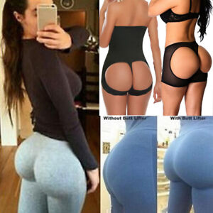 ef03d80cda High Waist Cincher Butt Lifter Tummy Control Thong Panty Body Shaper ...