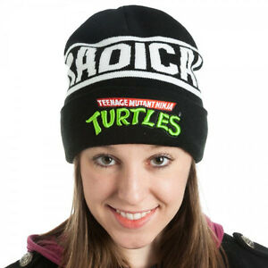 Official-TEENAGE-MUTANT-NINJA-TURTLES-BEANIE-Men-Women-Winter-Knit-Hat-Cap-ADULT