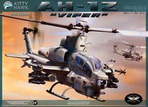 Kitty-Hawk-KH80125-1-48-AH-1Z-Viper-Helicopter-Model-Building-Kit