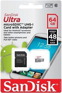 SanDisk-64GB-Ultra-Class-10-Micro-SD-Card-Extreme-Drone-DJI-Phantom-Quadcopter