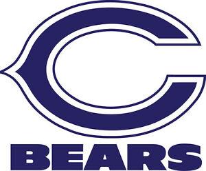 Chicago Bears Cornhole Board Decals Vinyl Cornhole Decals