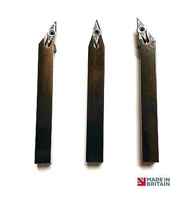 *sonder* 8mm Drehbank Werkzeug Mit Vcgt 11 Hartmetalleinsatz British Made Mit Traditionellen Methoden