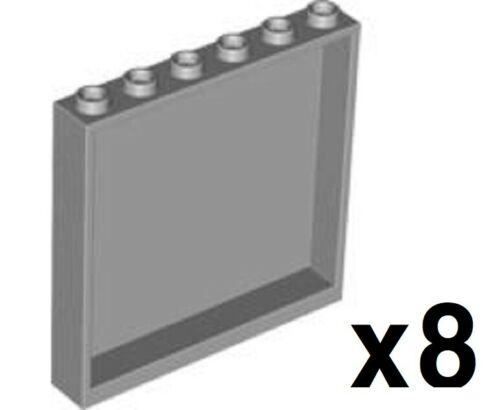 LEGO Lot or 8 Wall Element 1x6x5 Select Color 59349
