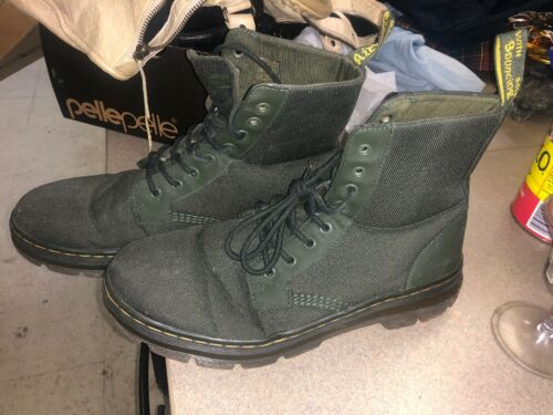 Doc Martens Canvas Solid Green