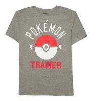 Pokemon Trainer Men's Graphic Tee T-shirt Xl Xxl 2xl