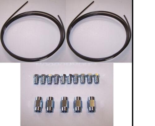 Bremsleitung Reparatur Reparatursatz 2 x 2 Meter mit 10 Muttern und 5 Verbinder