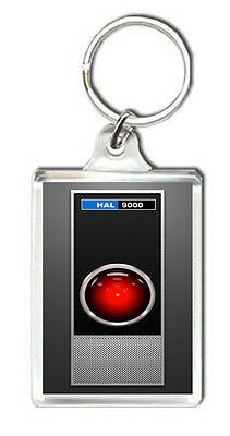 HAL 9000 2001 SPACE ODYSSEY BEER DRINK BOTTLE CAP OPENER KEYRING