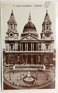 506-Antica-Cartolina-Saint-Paul-039-s-Cattedrale-London
