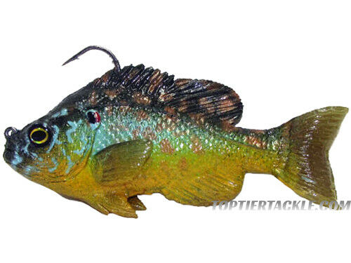 Select Color Mattlures U2 Hammer Tail Bluegill Swimbait