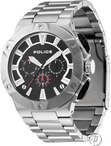 Police-12740JS-02M-Mens-Cyclone-Watch-Brand-New-In-Box