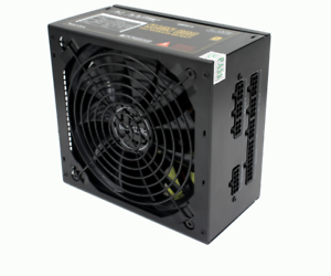 ALIMENTATORE FULL MODULARE 600W GAMING PER PC KAON600 KAON61 ATX VENTOLA 14CM