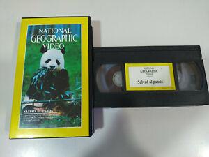 Salvad-al-Panda-National-Geographic-Video-VHS-Cinta-Tape