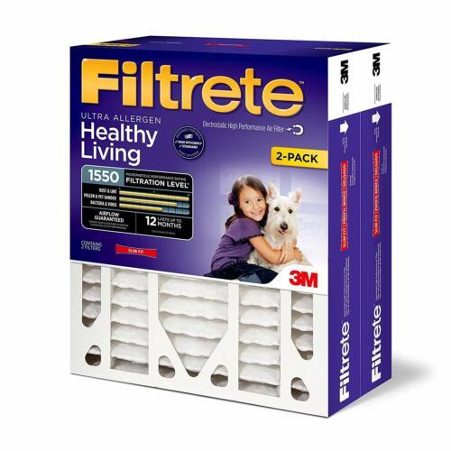 Filtrete 16x25x4 MPR 1550 DP Healthy Living Ultra Aller AC Furnace Air Filter