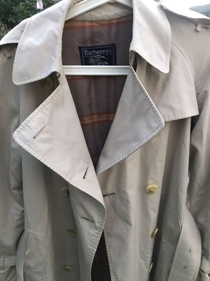 Trenchcoat, str. findes i flere str., Burberry