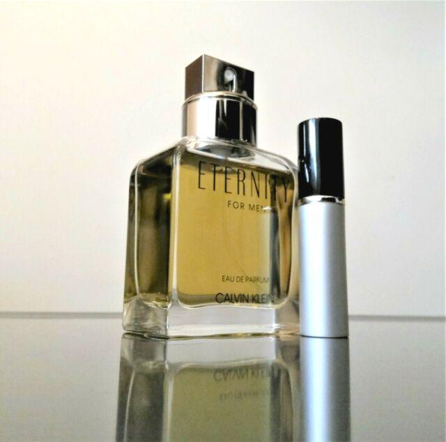(NEW FOR 2019) Calvin Klein ETERNITY EDP for Men - 5ml Glass Spray SAMPLE