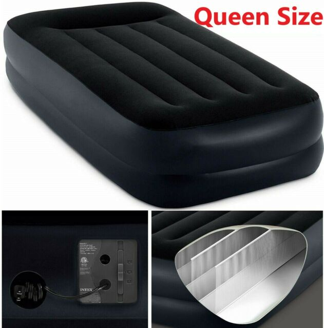 Serta Sleeper Inflatable Queen Size Mattress Bed With Air