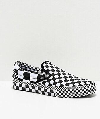 white checker vans