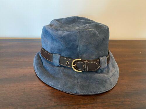 Coach Vintage Suede Bucket Hat