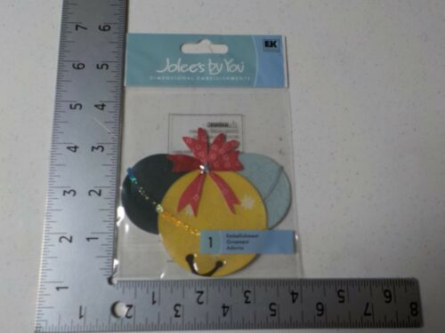 JOLEE/'S BY YOU JINGLE BELLS CHRISTMAS DIMENSIONAL EMBELLISHMENTS NEW A5266