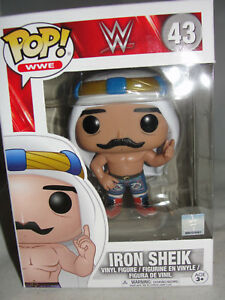Funko Pop WWE Iron Sheik Figure #43 Old School Vinyl Bobble Head Superstar