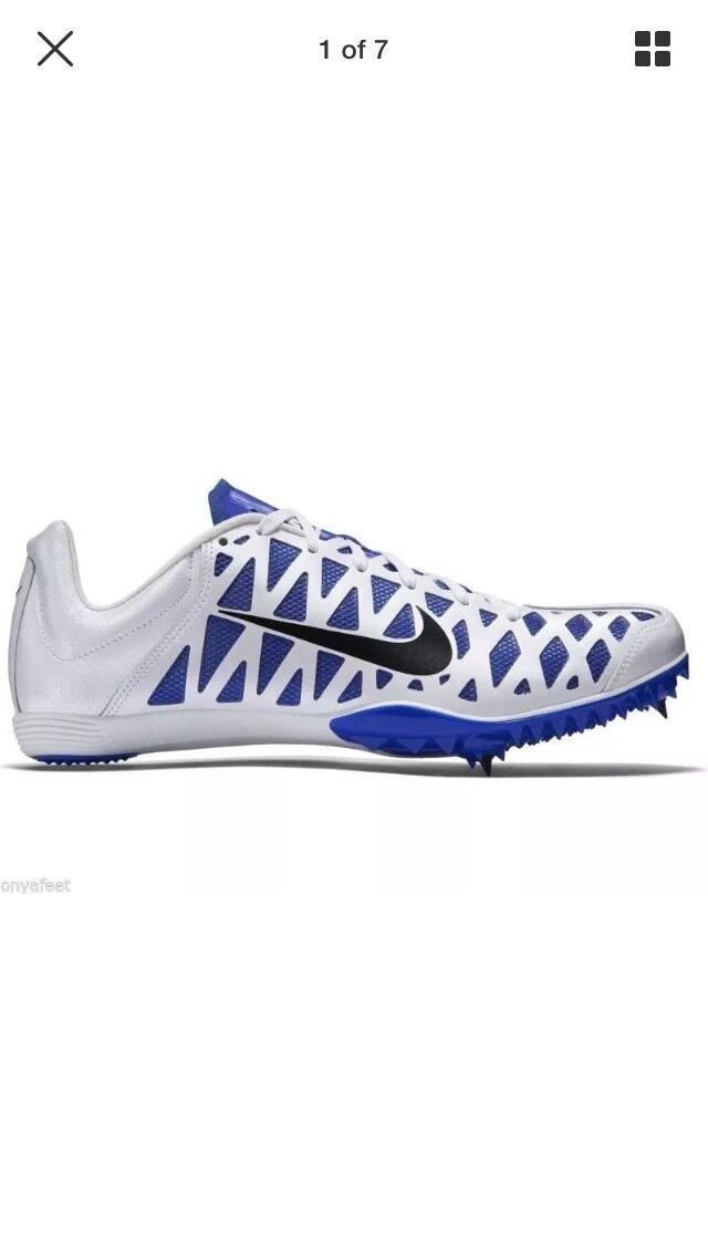 Nike zoom maxcat 4 nnb 549150 100 sprint - elite r4 Weiß / royal mens sz 8 wmns 9,5