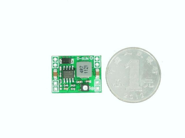 5PCS Super mini 3A DC-DC Converter Step Down Power Supply Module 3V 5V 16V
