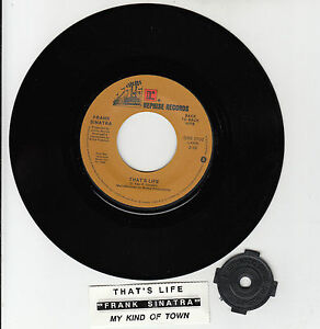 FRANK-SINATRA-That-039-s-Life-amp-My-Kind-Of-Town-7-034-45-rpm-vinyl-record-BRAND-NEW