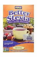 Now Foods Stevia Extract Packets (100/box) (pack Of 4) 400 Pack... Free Shipping
